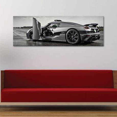 Design sport car - dizájn sport autó - vászonkép