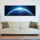 Tho top of the world - a világ teteje - Föld bolygó - vászonkép
