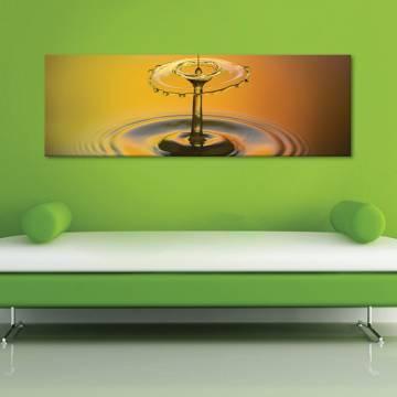 Splash of a drop - vízcsepp - vászonkép
