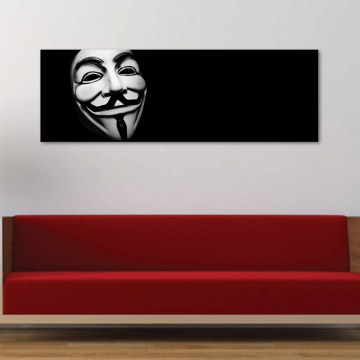 Anonymous - Guy Fawkes - vászonkép
