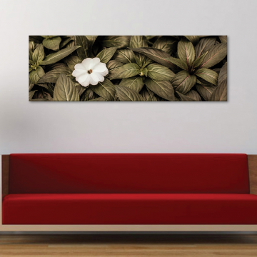 Just one flower - magányos virág - vászonkép