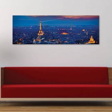 Paris lights at night - Párizs éjszakai fényei - vászonkép