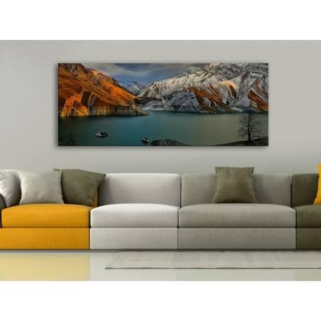 Amir kabir lake - vászonkép 100378