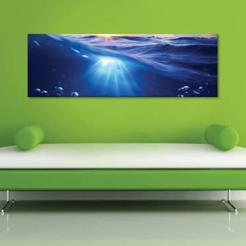 Underwater reflexions - vízalatti tükrözõdés - vászonkép