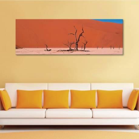 There's no life - kihalt sivatag - vászonkép