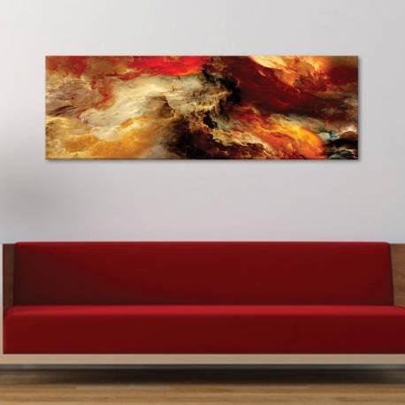 Glovin' smoke abstract - absztrakt - vászonkép