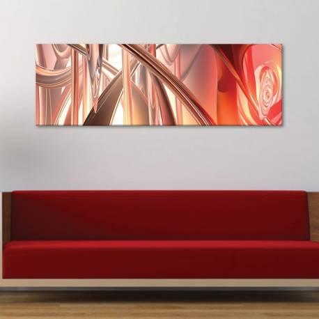 Liquid metal - absztrakt - vászonkép