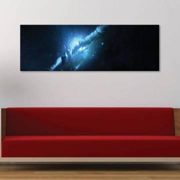 Galactical smoke - galaktikus köd - vászonkép
