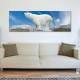 White giant - jegesmedve - vászonkép