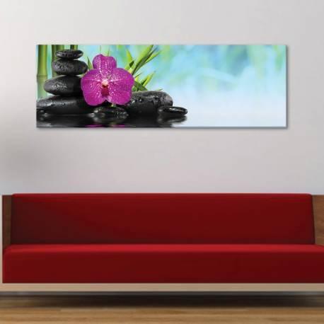 Yoga style orchids - Orchideák - vászonkép
