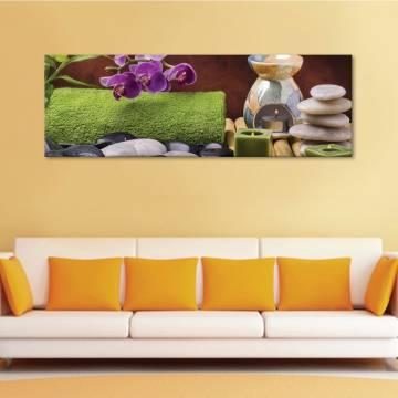 SPA & orchids - Harmónia & orhidea - vászonkép