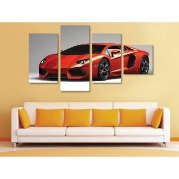 Lamborghini - 4 részes vászonkép