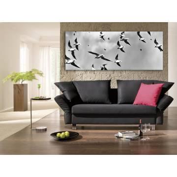 Seagull army - Sirályok - vakrámára feszített vászonkép 100187