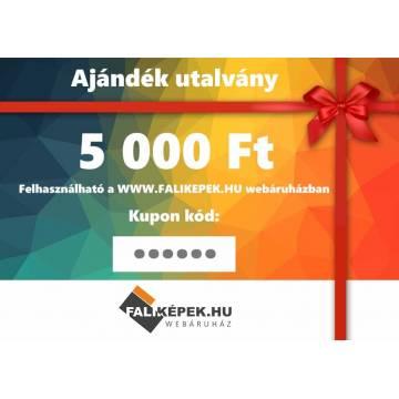 Ajándék utalvány 5000 Ft