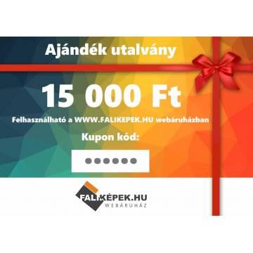 Ajándék utalvány 15000 Ft