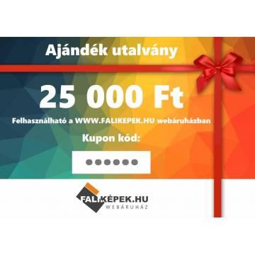Ajándék utalvány 25000 Ft