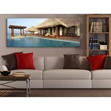 Just Relax - Kikapcsolódás a Tengerparton - vászonkép 100480