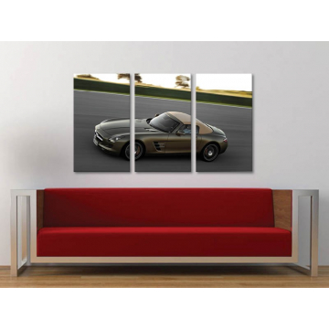 Három részes vászonkép - Classic - klasszikus autó vászonkép 3a-100251