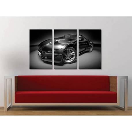 Három részes vászonkép - Muscle car - erõ négy keréken - autós vászonkép 3a-100261 - 1