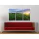 Három részes vászonkép - Sunshie meadow - napsütéses rét vászonkép 3a-100303