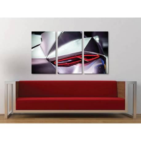 Három részes vászonkép - Ergonomic car design - vászonkép 3a-100335 - 1